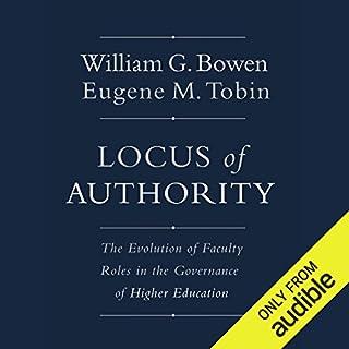 Locus of Authority audiobook cover art