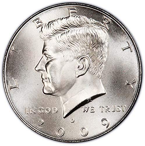 2009 D Satin Finish Kennedy Half Dollar Choice Uncirculated US Mint