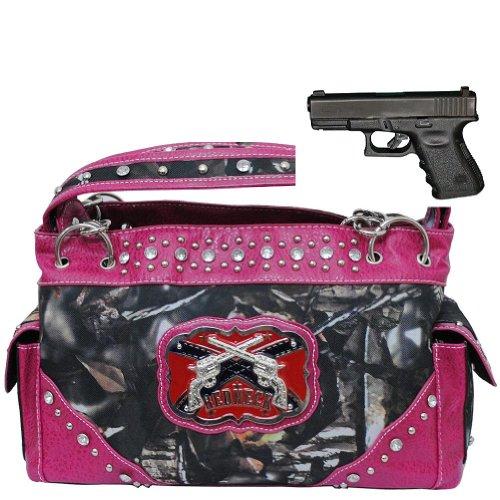 pink gun purse - 3