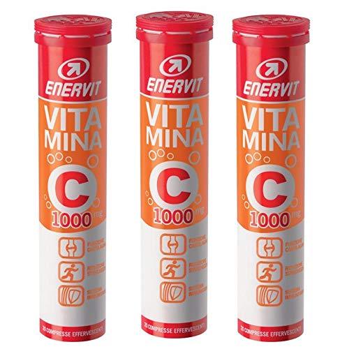 enervit - 3X Vitamina C 1000 da 20 Compresse Effervescenti