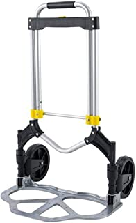 Lovinland Oversized Luggage Cart, Folding Travel Trolley Cart Dolly 330 lbs Capacity Multi-Use Carrier