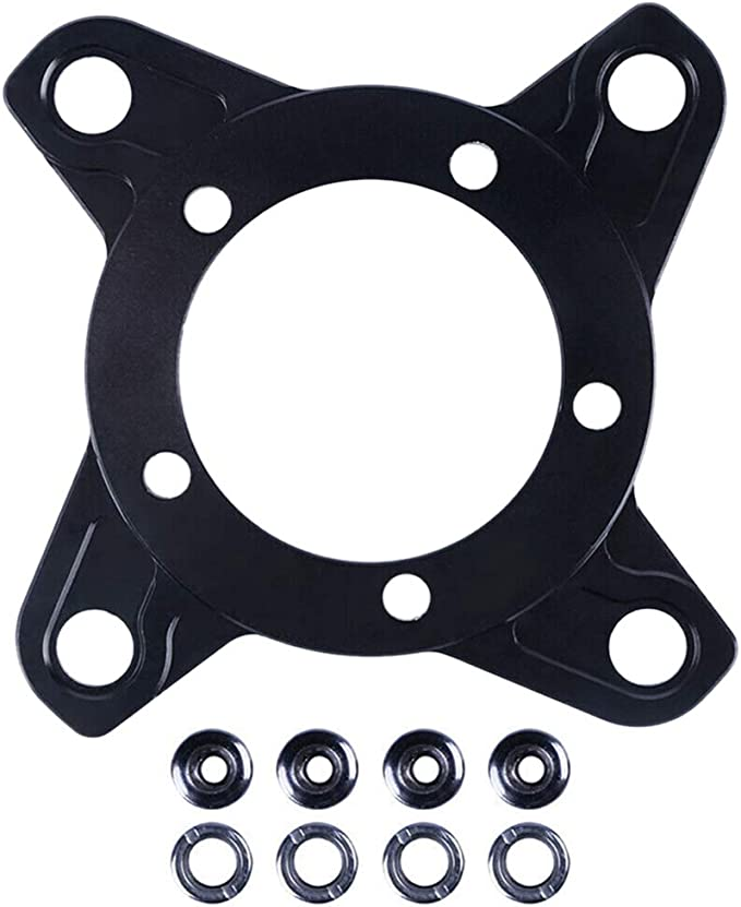 Kettenring Spider Adapter 104BCD Scheibenhalter Ständer für Bafang Elektromoto