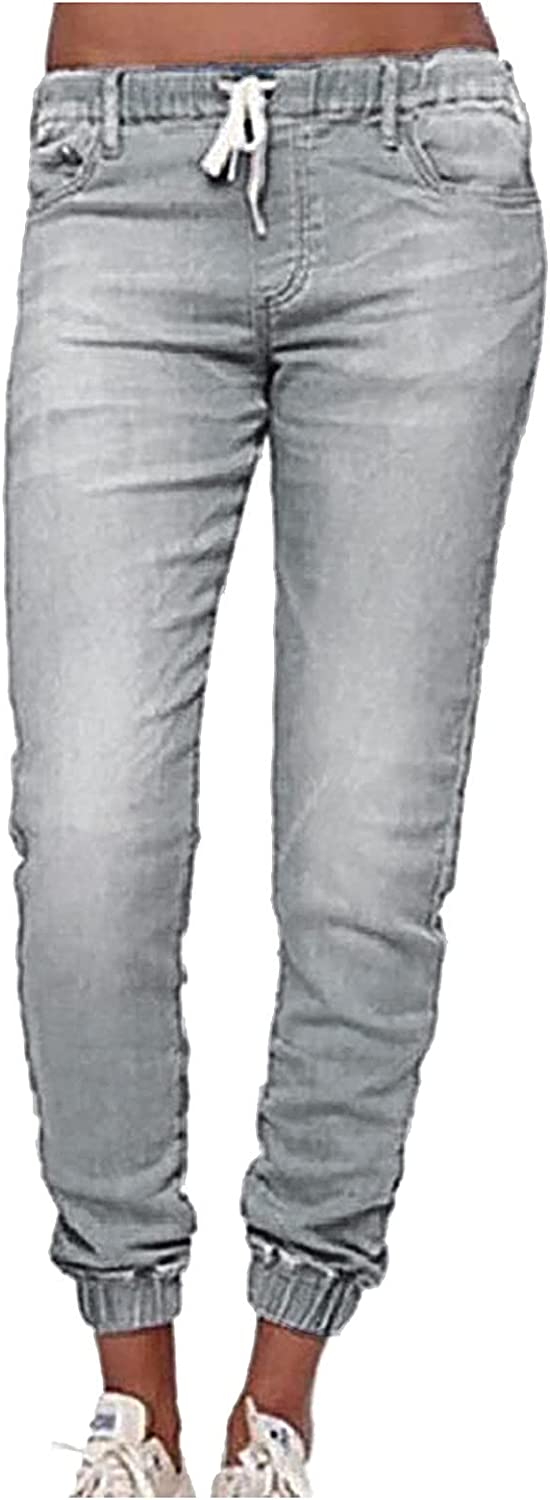 Columbus Mall NRUTUP Denim Oakland Mall Jeans for Women Fashion Waisted Lantern Lace Up Mid