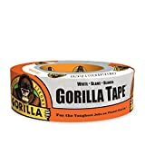 Gorilla White Duct Tape, 1.88' x 30 yd, White, (Pack of 1)