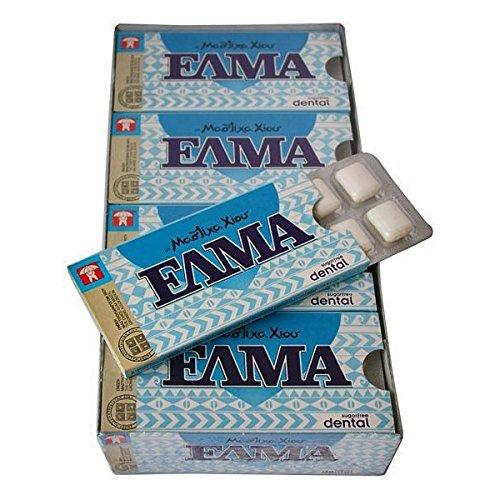 Elma Dental Chios Mastic Gum 12x10 Pieces / 12x14gr - From 100% Fresh Original Xios (Masticha or Mastixa)