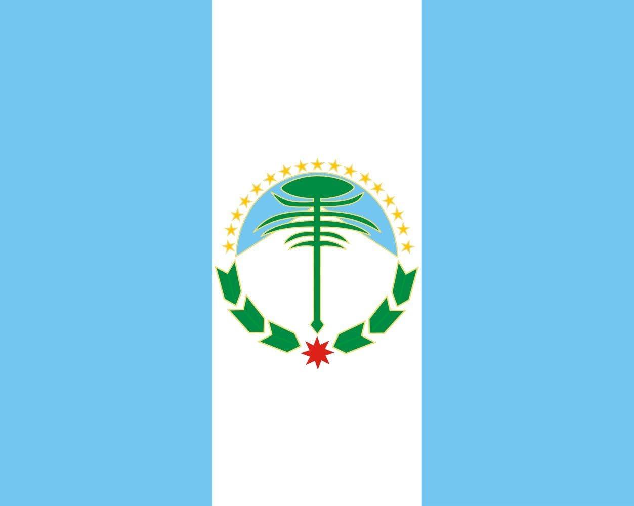 magFlags Bandera XXS Provincia del Neuquén | Bandera Paisaje | 0.24m² | 45x55cm