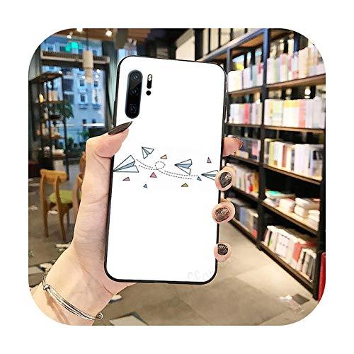 Funda de teléfono para Huawei Honor Mate P 9 10 20 30 40 Pro 10i 7 8 a x Lite nova 5t-a7-huawei p20 pro