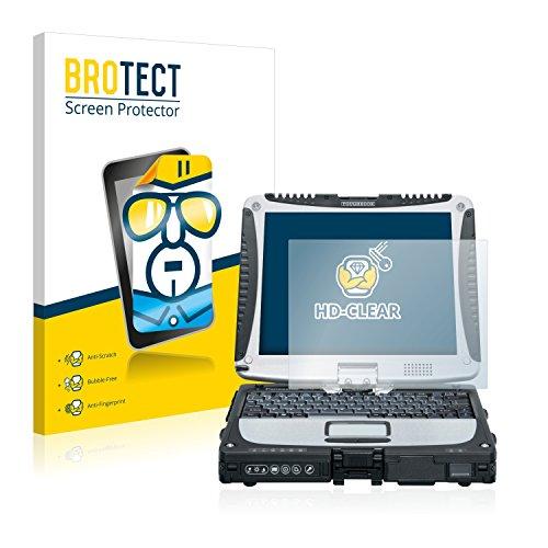 BROTECT Schutzfolie kompatibel mit Panasonic Toughbook CF-19 (2 Stück) klare Displayschutz-Folie