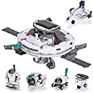 AESGOGO STEM Projects for Kids Ages 8-12 , 6-in-1 Solar Robot Kit , Toys Gifts for 7 8 9 10 11 12 Year Old Boys Girls , Educational Building Science Experiments Kit for Kids
