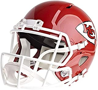 Riddell Kansas City Chiefs Officially Licensed Speed Full Size Replica Football Helmet