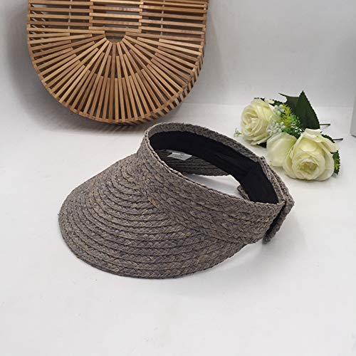 LINBUDAO Lente en zomer zonneklep hoed vrouwelijke topless hoed zonnehoed strand zonnebrandcrème vakantie rijden