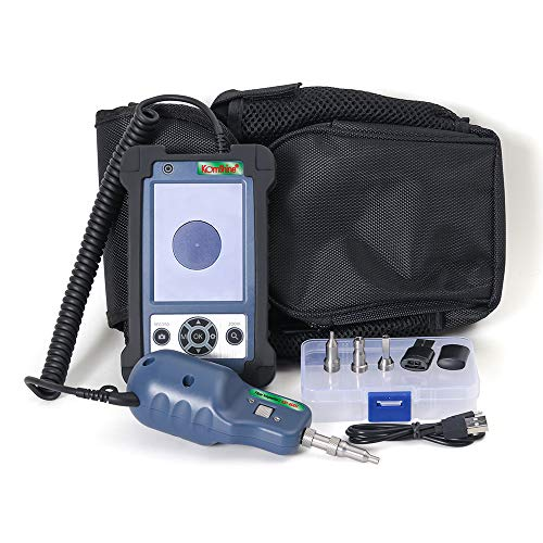400x Fiber Optic Video Inspection Probe and Display KomShine KIP-600V, Fiber Optic Inspector,Fiber Optic Scope 400 Magnification