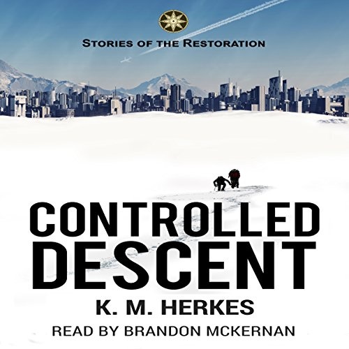 Controlled Descent audiobook cover art