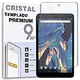 REY Protector de Pantalla para Tablet CHUWI Hi8 Air 8', Cristal Vidrio Templado Premium
