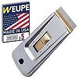 WEUPE Razor Blade Scraper Tool: Window Scraper, Glass Cooktop Scraper...