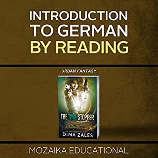 Introduction to German by Reading Urban Fantasy audiobook cover art