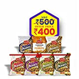Free from Artificial color, Flavors and ingredients 6 grams of protein per serving Traditionally roasted original Bharuchi peanuts