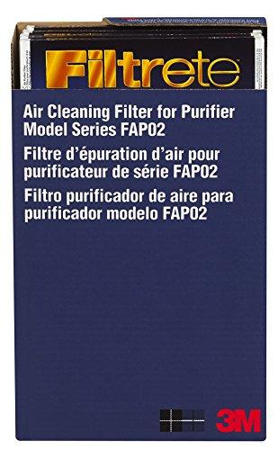 3M FAPF02-4 - Filtro di ricambio per purificatore d'aria Filtrete Ultra Clean