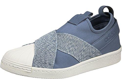 adidas Originals Superstar Slipon Sneaker Blau/Weiß, Schuhgröße:EUR 40