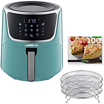 GoWISE USA GW22954 7-Quart Electric Air Fryer with Dehydrator