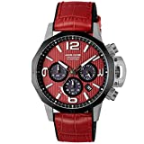 [Angel Clover] 腕時計 タイムクラフトソーラー NTS45SRE-RE メンズ レッド