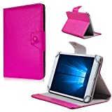 Nauci Tablet Tasche Hülle LG G Pad 2 8.3 LTE Case Universal Cover Schutzhülle, Farben:Pink