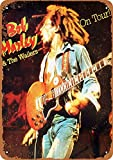 KODY HYDE Metall Poster - Bob Marley The Wailers Tour -