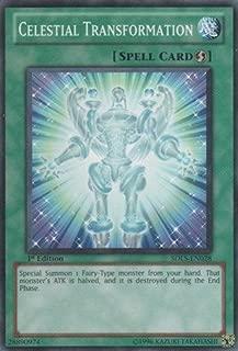 Yu-Gi-Oh! - Celestial Transformation (SDLS-EN028) - Structure Deck: Lost Sanctuary - 1st Edition - Common