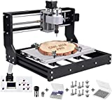 Machine à graver CNC Machine kit Mise à niveau de CNC 3018 Pro GRBL Kit de routeur de commande Routeur de bois Graveur 3 axes Plastique Acrylique PVC Sculpture sur bois Fraisage Machine de gravure