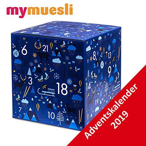 MyMuesli Porridge Adventskalender 2019-24 Bio Müsli Advent Kalender von My Müsli, Damen und Herren MyMüsli Weihnachtskalender, MyMusli Adventkalender für Mann und Frau