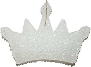ChicWick Car Candle Leather and Lace Princess Crown Shape Car Freshener Fragrance