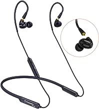 TENNMAK Run PRO MMCX Bluetooth Neckband Detachable Earphones Earbuds with APTX CVC6.0 for Gym Running Sport Up to 8 Hours Play Time