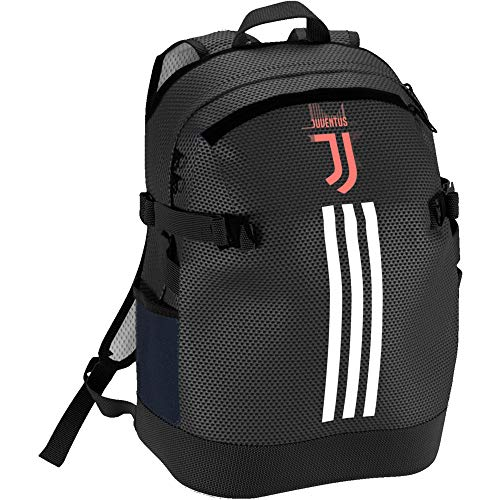 adidas Juve Tw, Backpacks Uomo, Black/White/Turbo, Taglia Unica