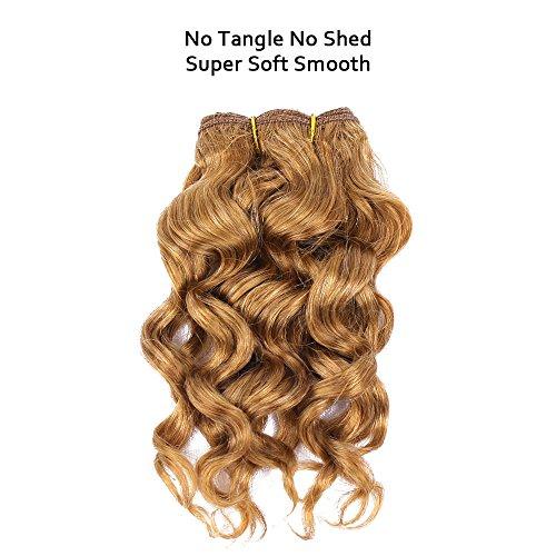 Cheap blonde human hair weave _image0