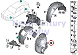 BMW Genuine Wheelarch Trim Bottom Left Cover 428i 428iX 435i 435iX 428i 428iX 435i 435iX