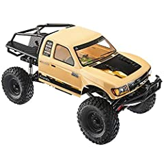 SCX10 II trail honcho is the reliable and rugged choice for RC scale trail fun Ultra compact transmission allows for a wide range of gearing choices, and the AR44 single piece axle allows for added ground clearance and better driveshaft angles Featur...