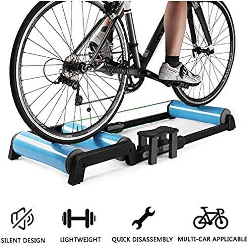 Woodtree Rodillo Ajustable Bicicletas Ciclismo Trainer parabólico inmóvil de la Aptitud Ejercicio...