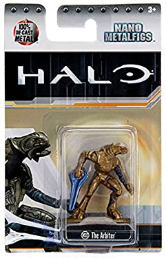 "Halo The Arbiter (MS12) 1.5"" Nano Metal Figure by Jada"