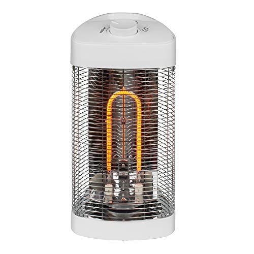 Westinghouse WES31-1200MWHT Infrared Electric Outdoor Heater Oscillating-Portable, White
