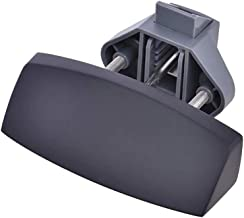 DronePost Slot, type trein, diameter 7 mm, voor kastdeur en meubels, 14-16 mm, caravan, boten, yates (zwart)   Push Lock  ...