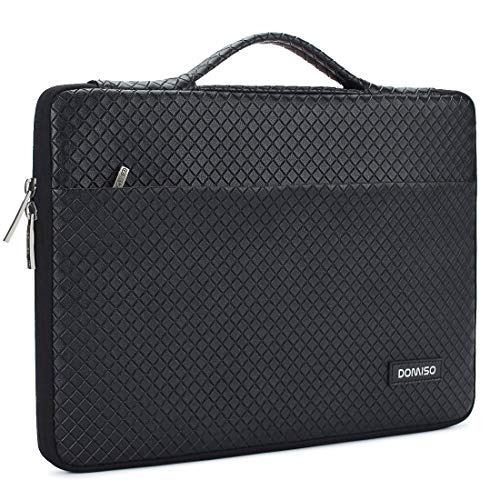 "DOMISO 11-11,6 Zoll Wasserdicht Laptophülle Notebook Tasche Schutzhülle mit Griff für 11.6"" MacBook Air / 12.3\"" Microsoft Surface Pro/Acer/Asus/Dell/Fujitsu/Lenovo/HP/Samsung, Schwarz"