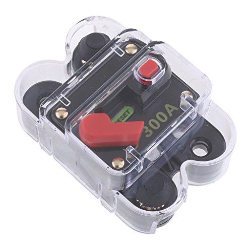 Homyl Auto Disjoncteur Ampères Commutateur Bloc Distribution Protection de Circuit - 300A