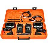 Rexon RL328+ Duo Pack - Juego de maletas con cargador y auriculares