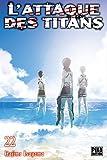 L'Attaque des Titans T22 - Format Kindle - 4,49 €