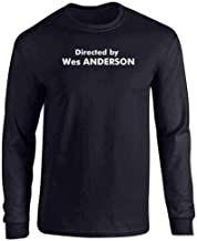 Pop Threads Directed by Wes Anderson Full Long Sleeve Tee T-Shirt