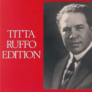 Titta Ruffo Edition