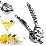 Juicer de limón Manual, exprimidor de Prensa de Frutas de Lima Naranja, máquina de Jugo de Prensa de Manos de cítricos con aleación de Aluminio de Calidad Easy Mini Fruit Juicer Machine para Cocina
