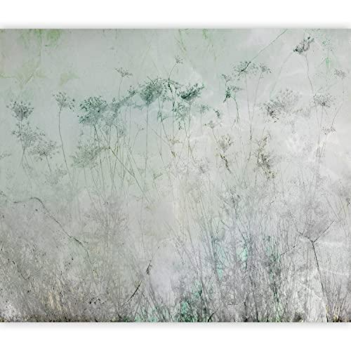 murando Fotomurales Abstracto Flores 350x256 cm XXL Papel pintado tejido no tejido Decoración de Pared decorativos Murales...