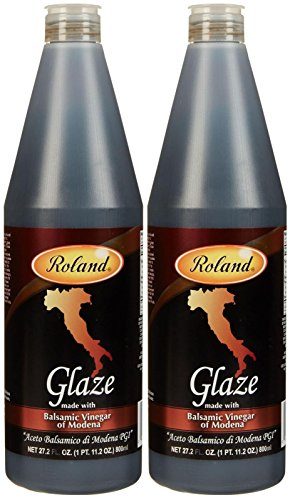 Roland Balsamic Glaze From Italy, 27.2 oz Bottles, 2 pk