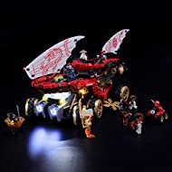 Designed for Lego 70677,with this light kit, you can bring your Lego Ninjago Land Bounty from dark to bright, make it come to life. Please note that only LED light set. All LEGO sets showed in images and videos are not included. Package contains dot ...